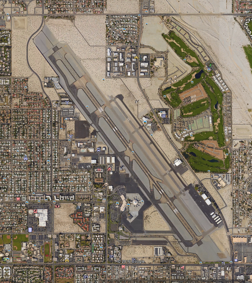 Google View of Airport