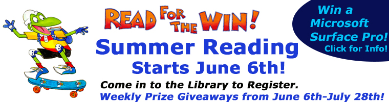 Read For the Win Banner