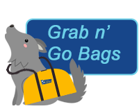 Grab N Go Bags Button