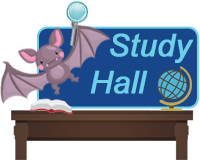 Study Hall Button