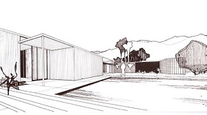 Cody House Sketch Exterior
