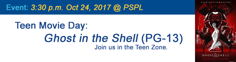 Oct 24 Teen Movie Ghost in the Shell