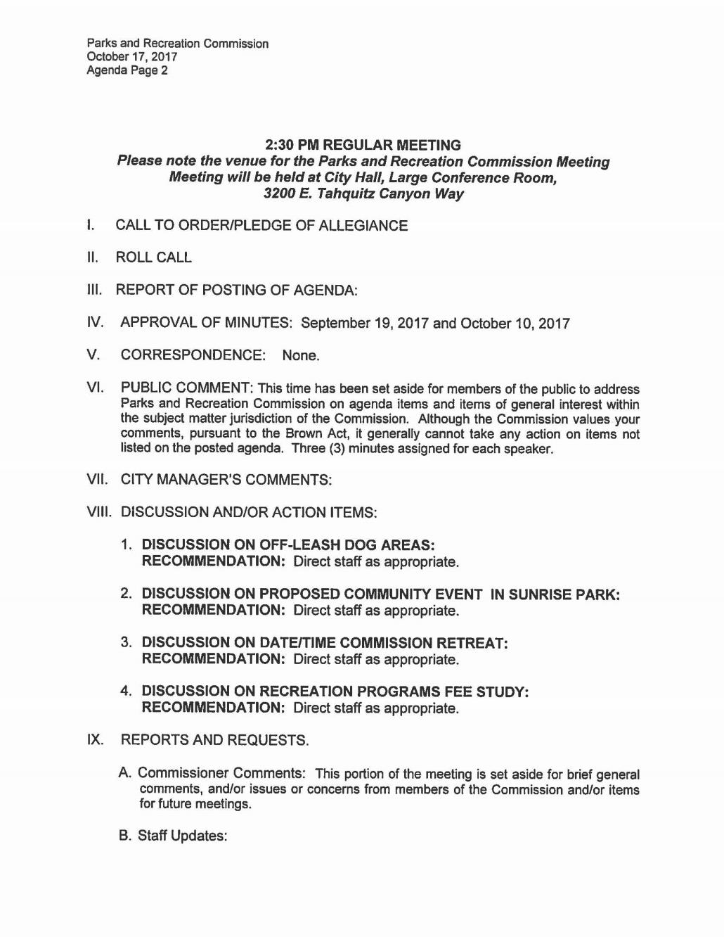 Parks and Recreation Commission Meeting 10172017_Page_2