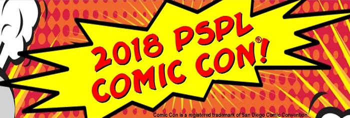 2018 Palm Springs Public Library Comic Con