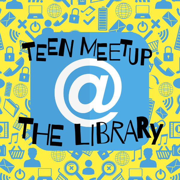 teen meetup at the library