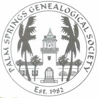 Palm Springs Genealogical Society Logo