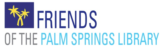 friends of the palm springs library logo