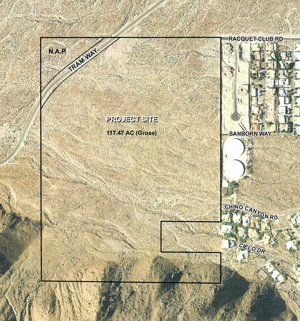 Desert Palisades Specific Plan City Of Palm Springs