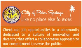 City of Palm Springs - Employment Webpage
