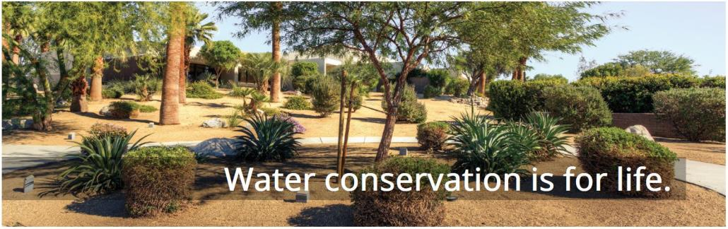 Water Conservation is for Life