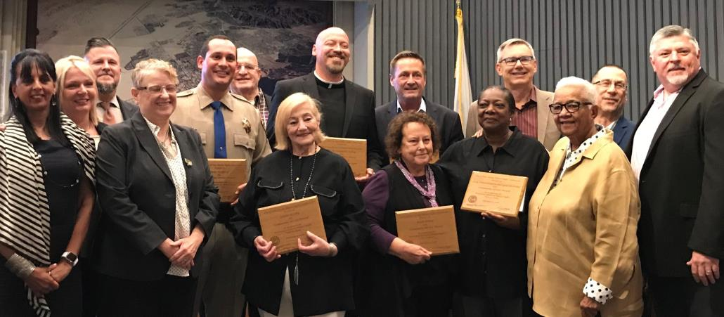 Community Service Awards Honorees