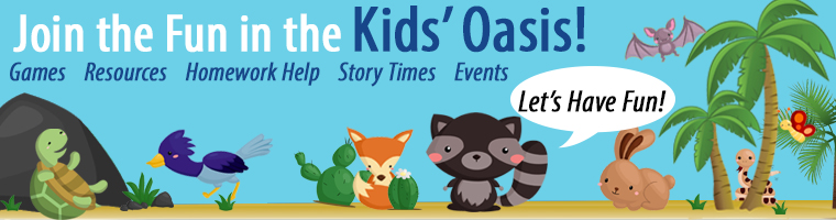 Kids' Oasis Banner For PSPL Homepage