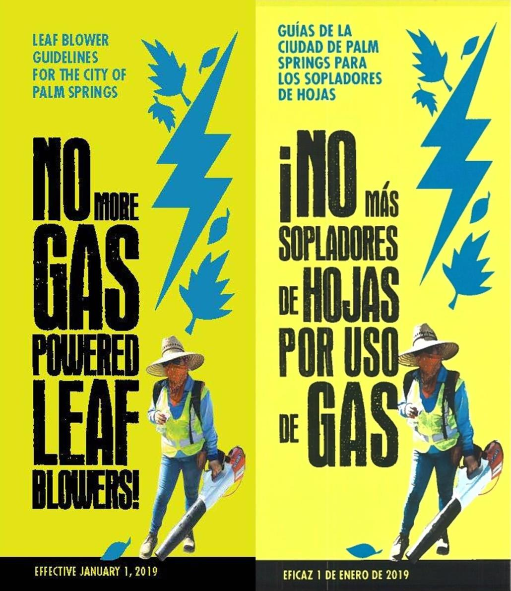 Gas Powered Leaf Blower Ban