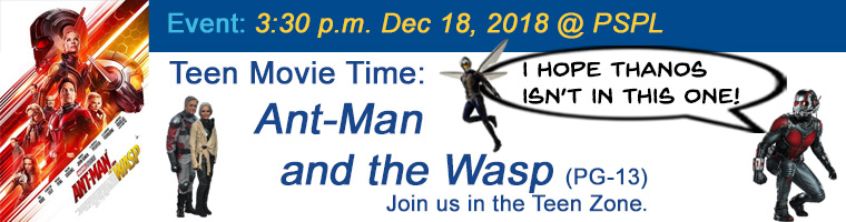 Dec 18 Teen Movie Ant-Man and the Wasp