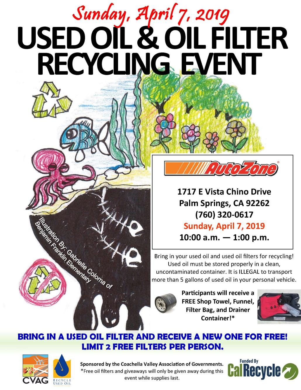 Used Oil Recycling Event