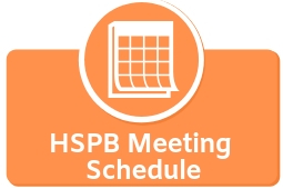 HSPB Meeting Schedule