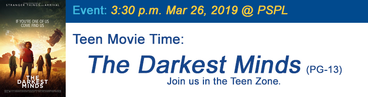 Mar 26 Teen Movie The Darkest Minds