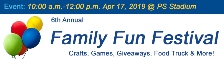 Apr 17 Family Fun Festival