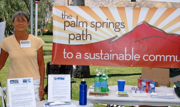 Sustainability booth
