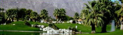 Picture of pond at Tahquitz Creek Golf Resort