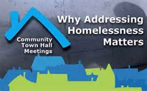 Homeless Town Hall Mtg.