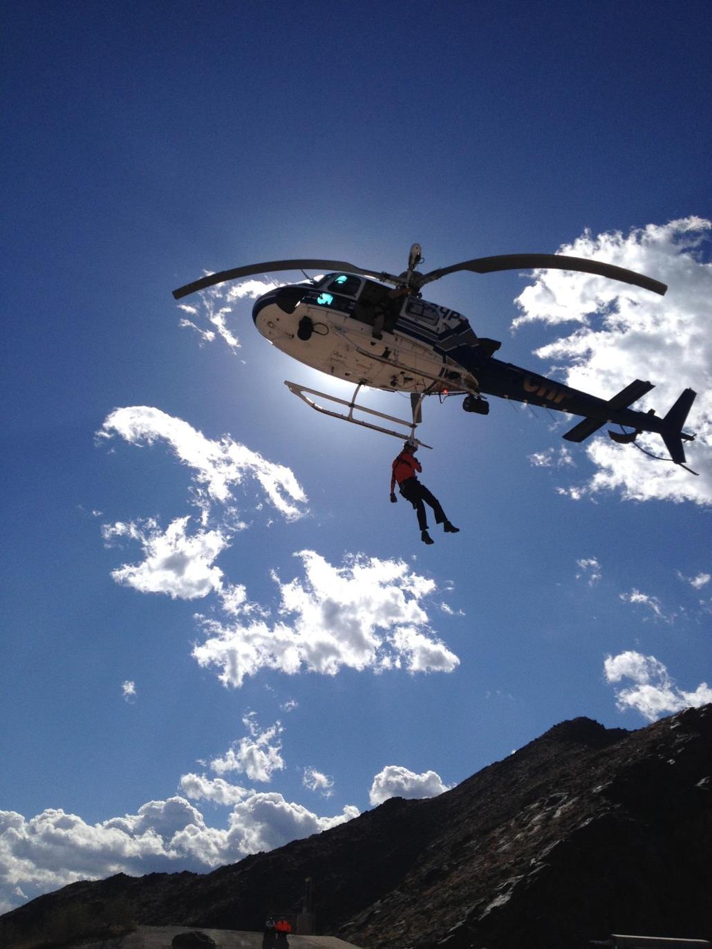 Hoist Rescue Training
